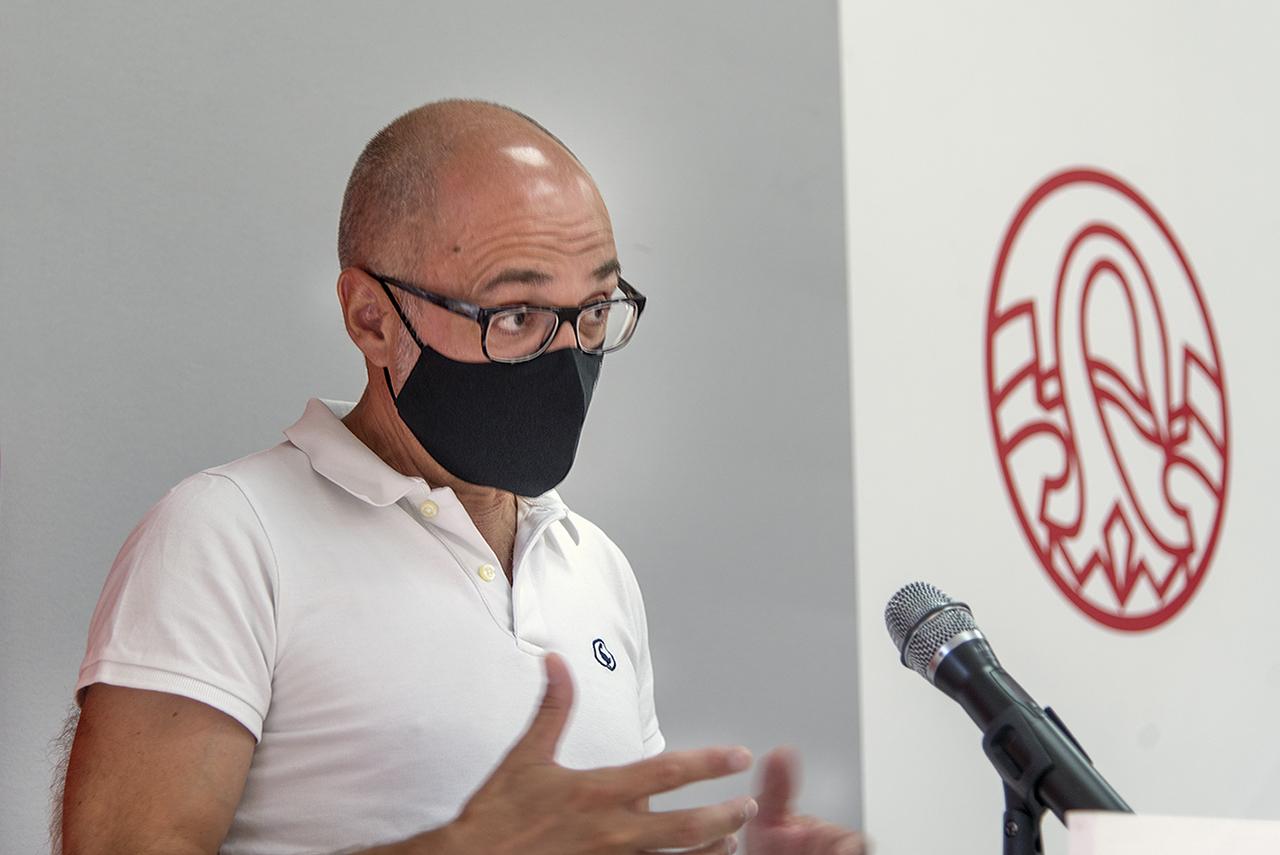 Juan Antonio Valor Yébenes, decano de la Facultad de Filosofía de la UCM