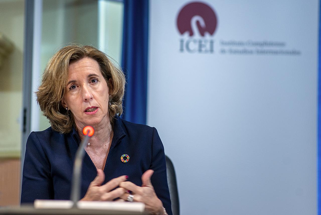 La secretaria de Estado de Economía y Apoyo a la Empresa hizo un balance de las medidas adoptadas durante la pandemia