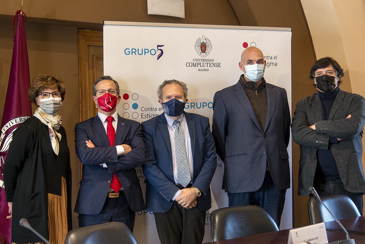 Nieves Rojo, Jorge Clemente, Juan Carlos Doadrio, Guillermo Bell y Manuel Muñoz