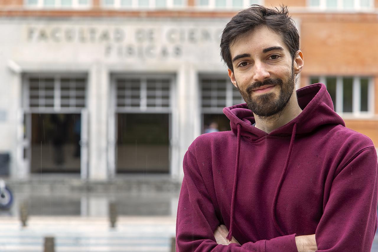 El estudiante Michelangelo Pantaleoni lidera al equipo internacional que ha descubierto una nueva estructura en nuestra galaxia