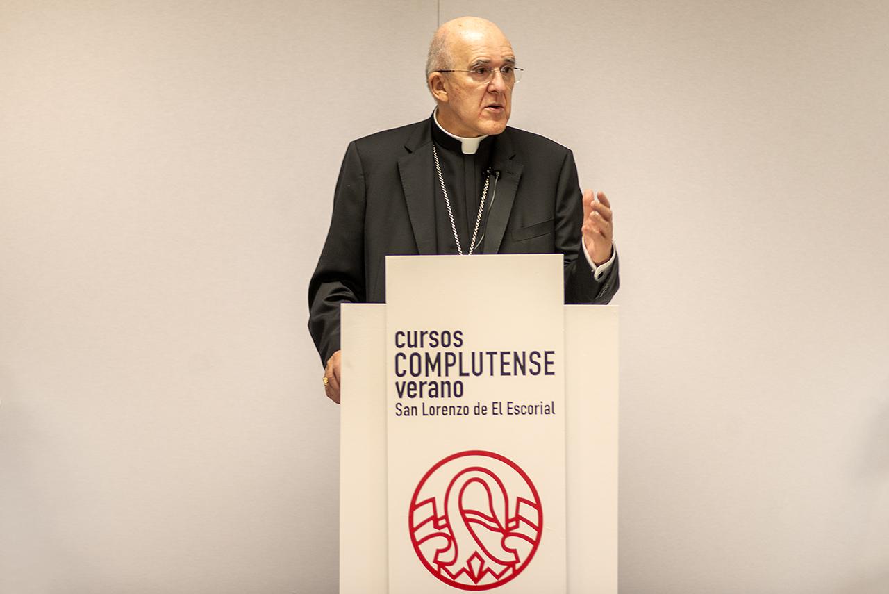 Carlos Osoro, cardenal arzobispo de Madrid y vicepresidente de la Conferencia Episcopal Española