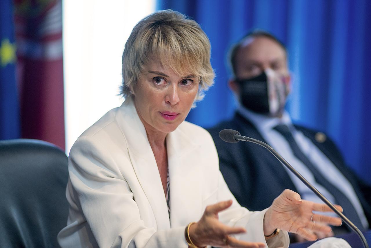 """La secretaria de Estado de Digitalización e Inteligencia Artificial, Carme Artigas, en """"Los diálogos del ICEI"""""""