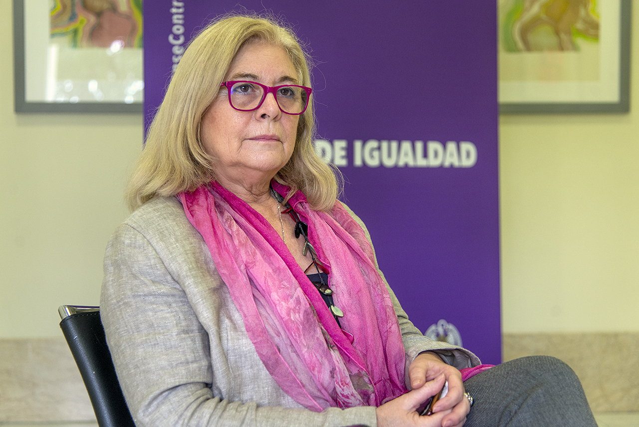 Isabel Tajahuerce, delegada del rector para la Igualdad