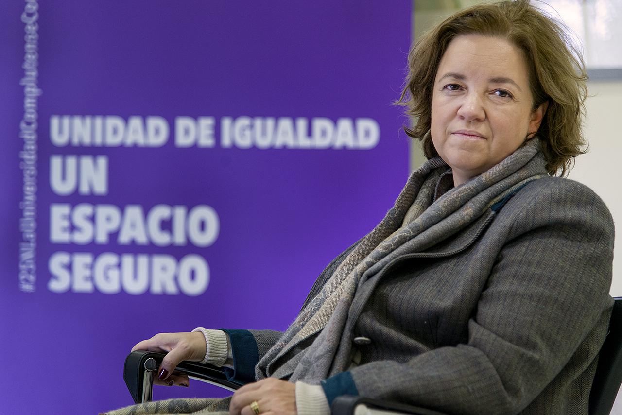 La directora de la Unidad de Igualdad, Magdalena Suárez