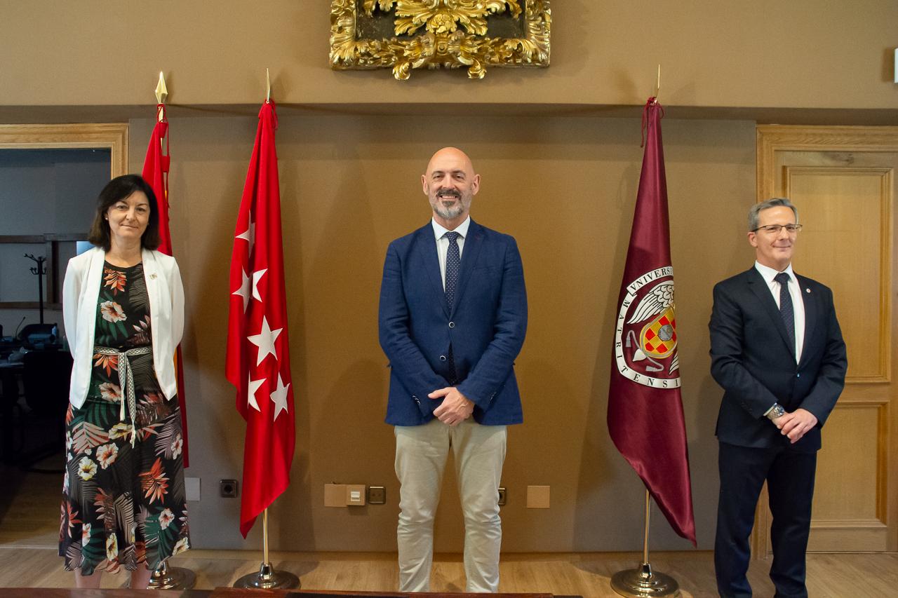 Araceli Manjón-Cabeza, Joaquín Goyache y Jorge Clemente