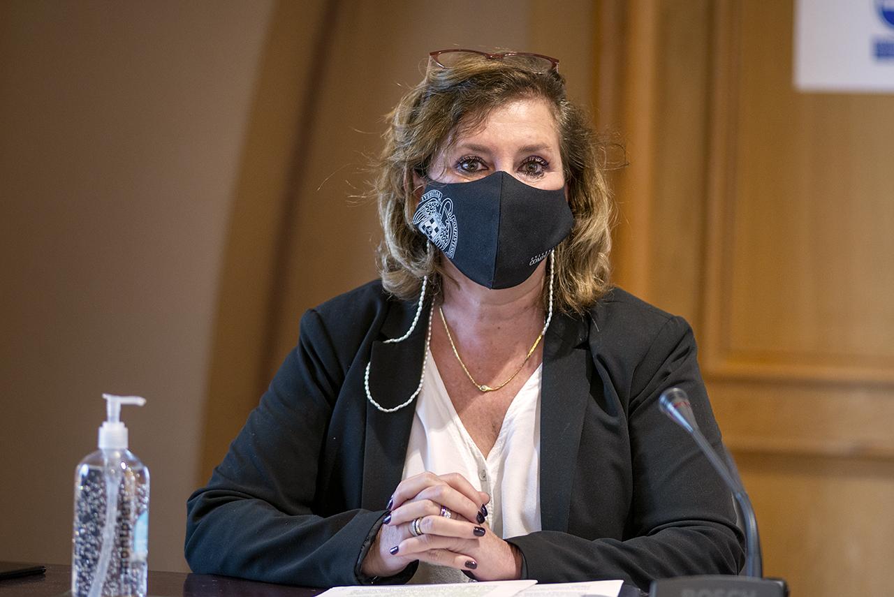 Yolanda García, delegada del Rector para la Promoción de la Cultura Preventiva de la UCM