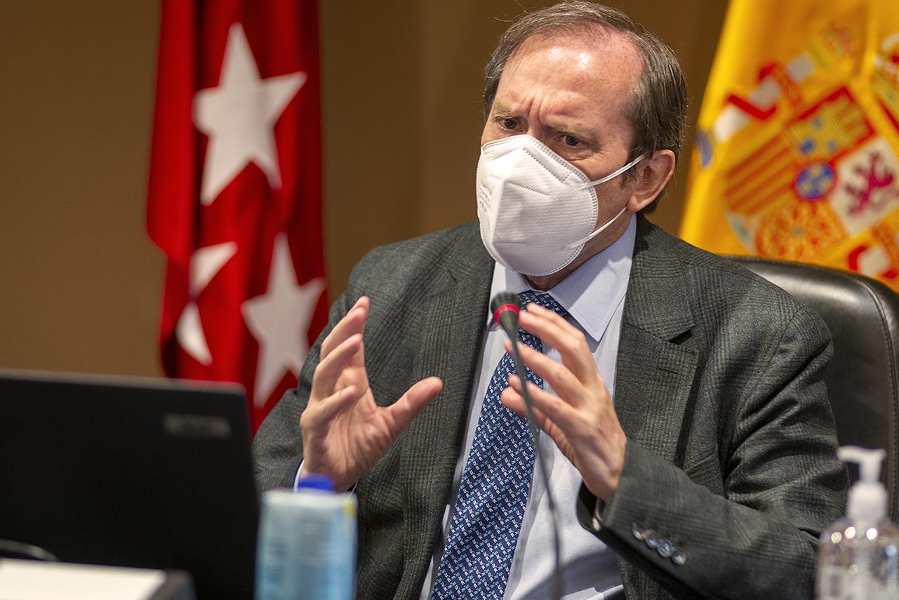 Dámaso López, vicerrector de Relaciones Internacionales y Cooperación de la UCM