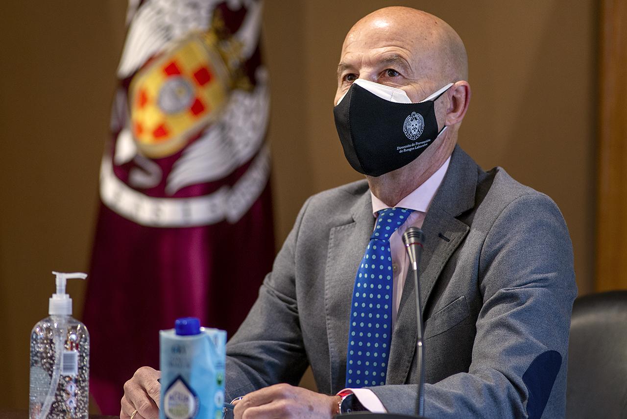 Santiago Ramos, director de la Unidad de Prevención de Riesgos Laborales de la UCM