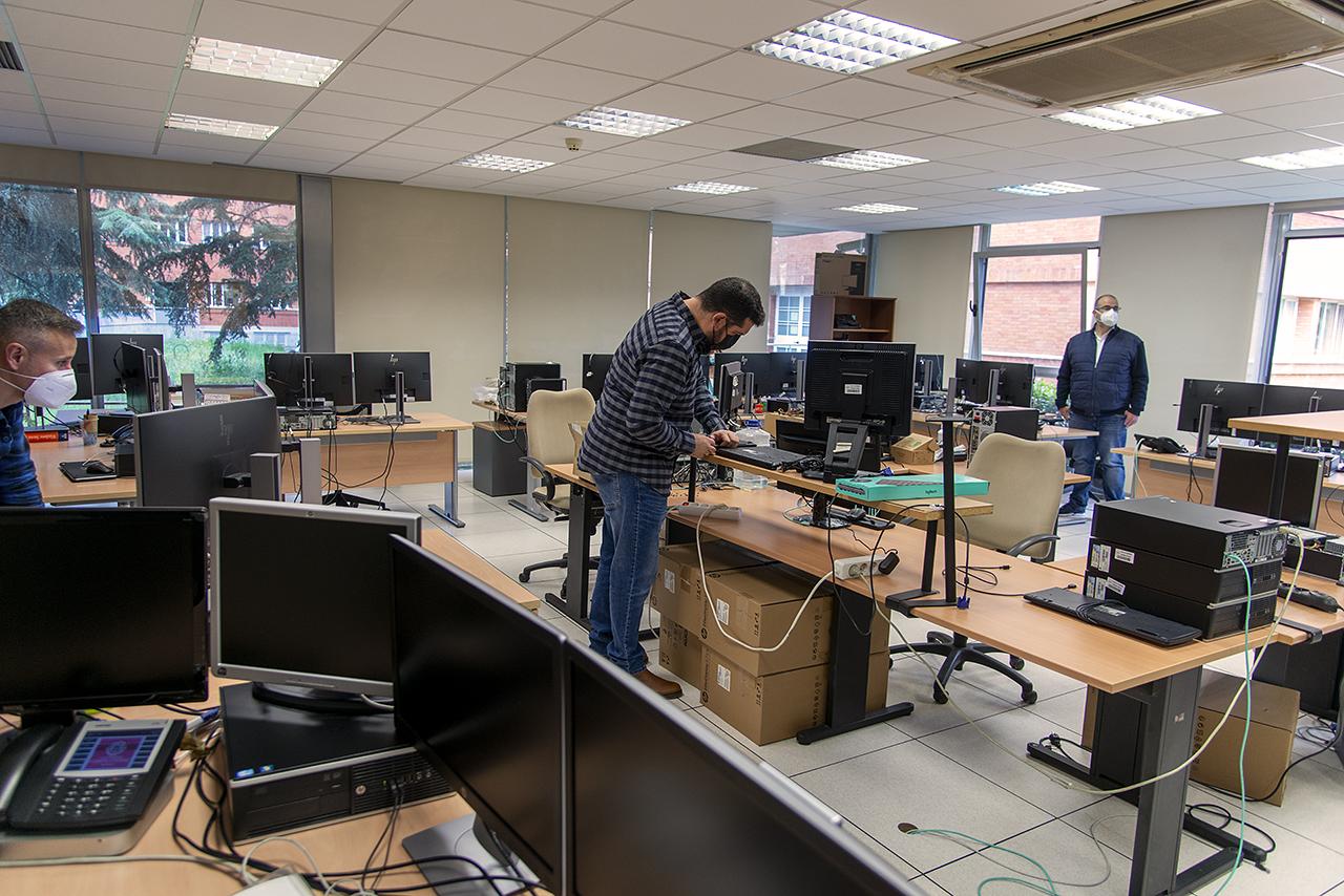 En el proyecto trabajan diversos grupos y áreas de los Servicios Informáticos