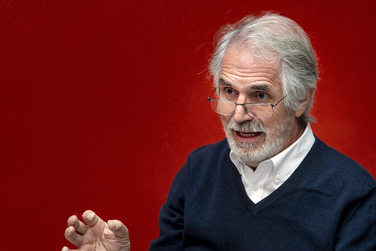 Pedro Saura es profesor emérito de la Facultad de Bellas Artes