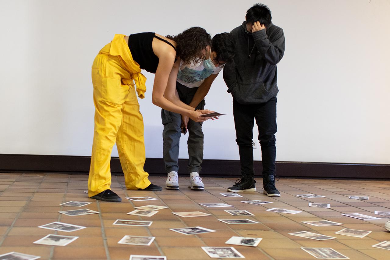 En la Casa de Cultura de San Lorenzo de El Escorial han hecho un taller artístico con Sara Torres