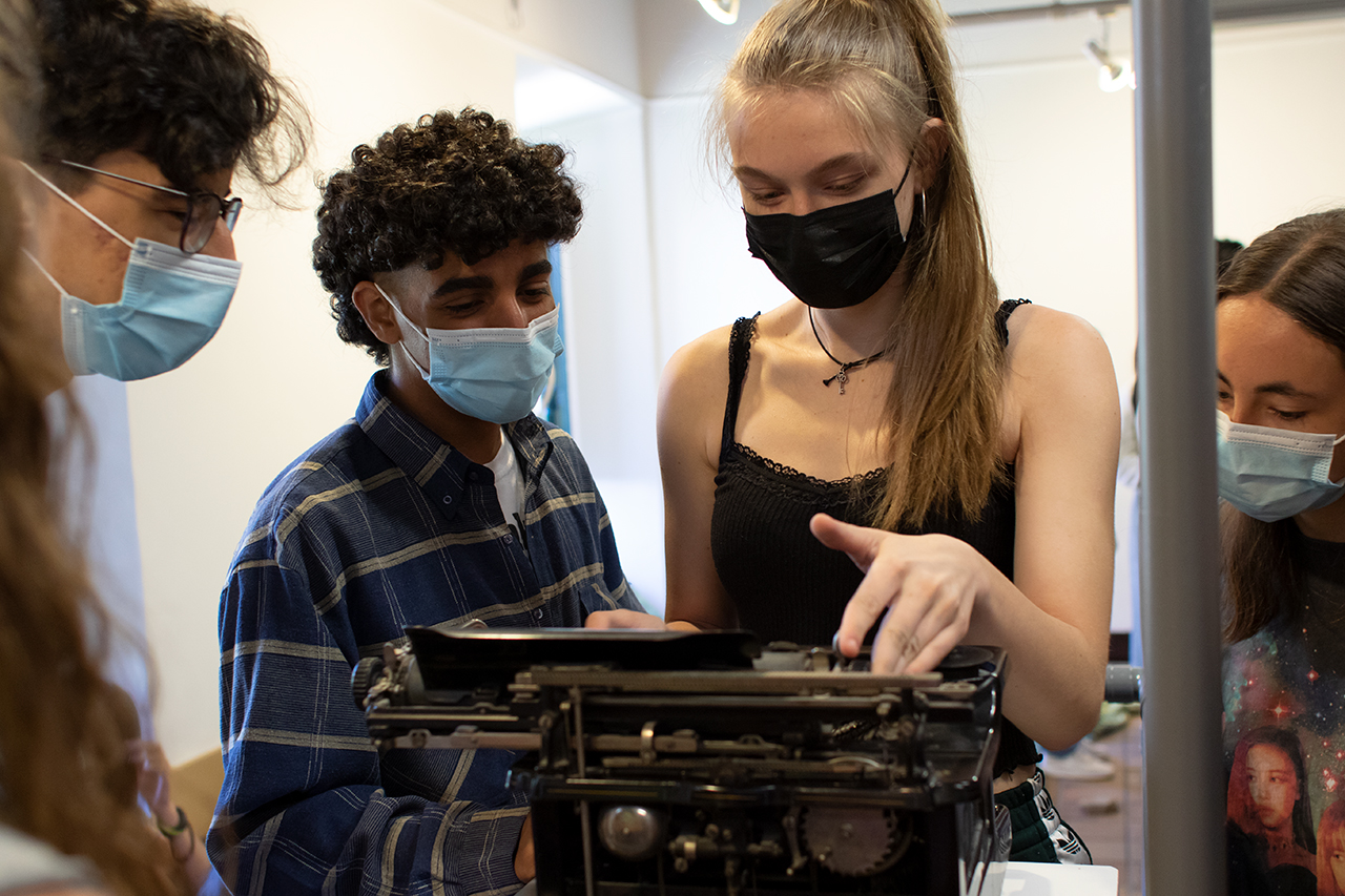 Uno de los objetivos del campamento es generar curiosidad y amor por el conocimiento
