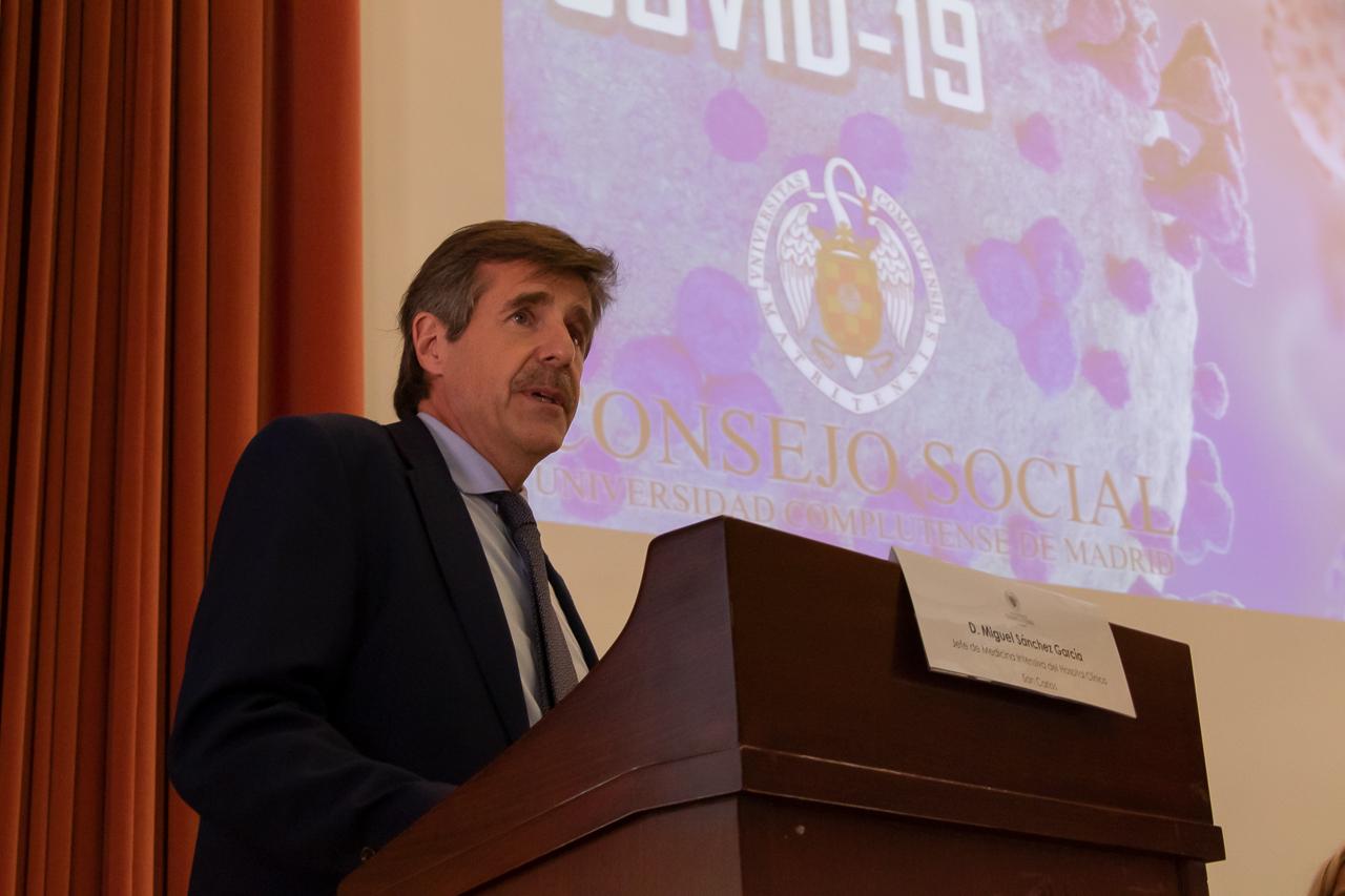 Miguel Sánchez García, presidente del jurado de Investigación