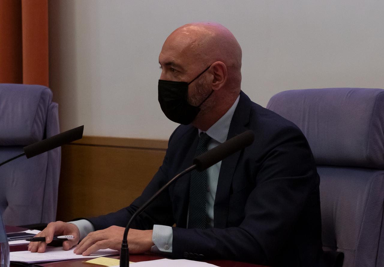 El rector Joaquín Goyache destacó la respuesta coral ofrecida por los complutenses