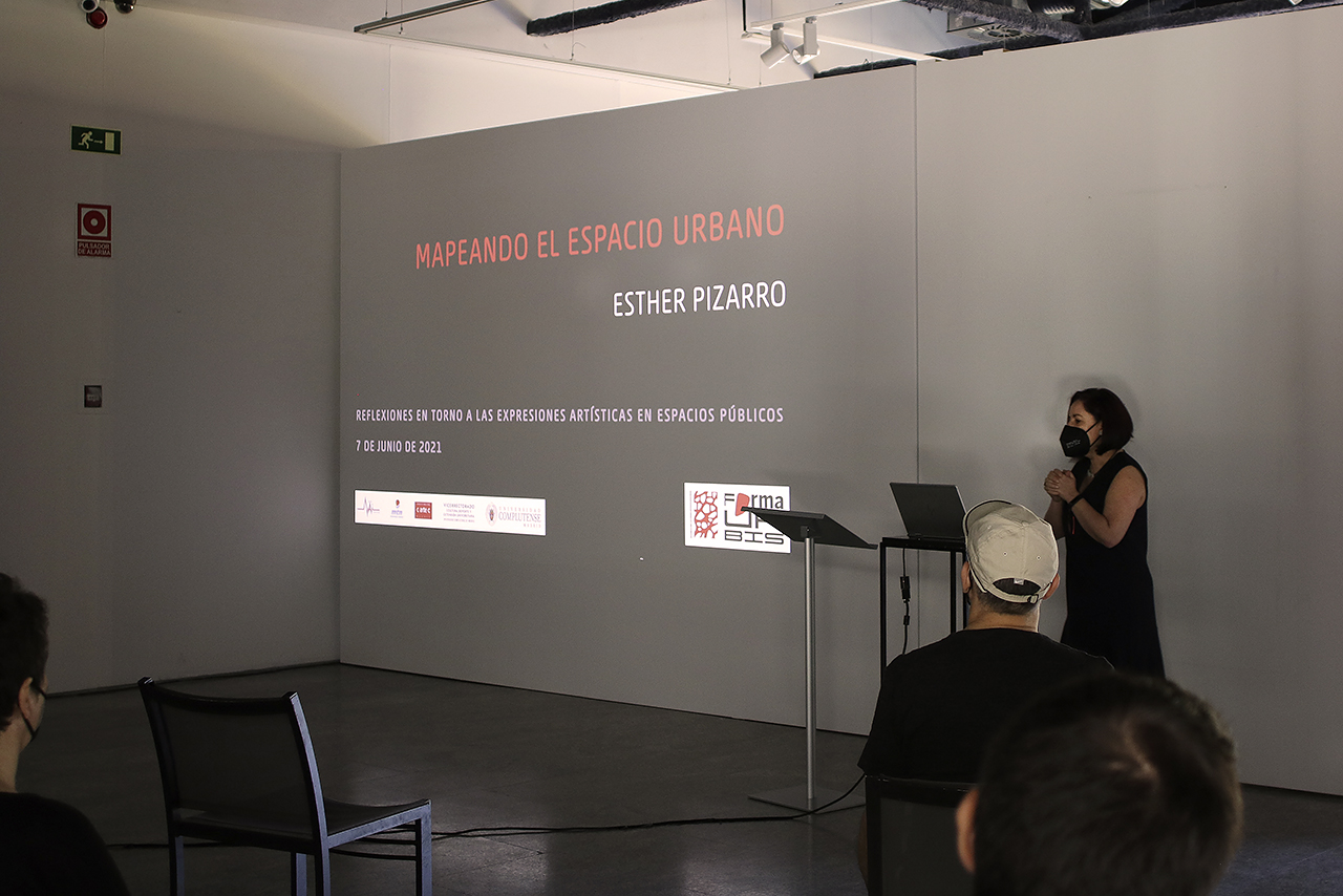 Esther Pizarro, licenciada en Bellas Artes por la Universidad Complutense y profesora titular en la Universidad Europea de Madrid