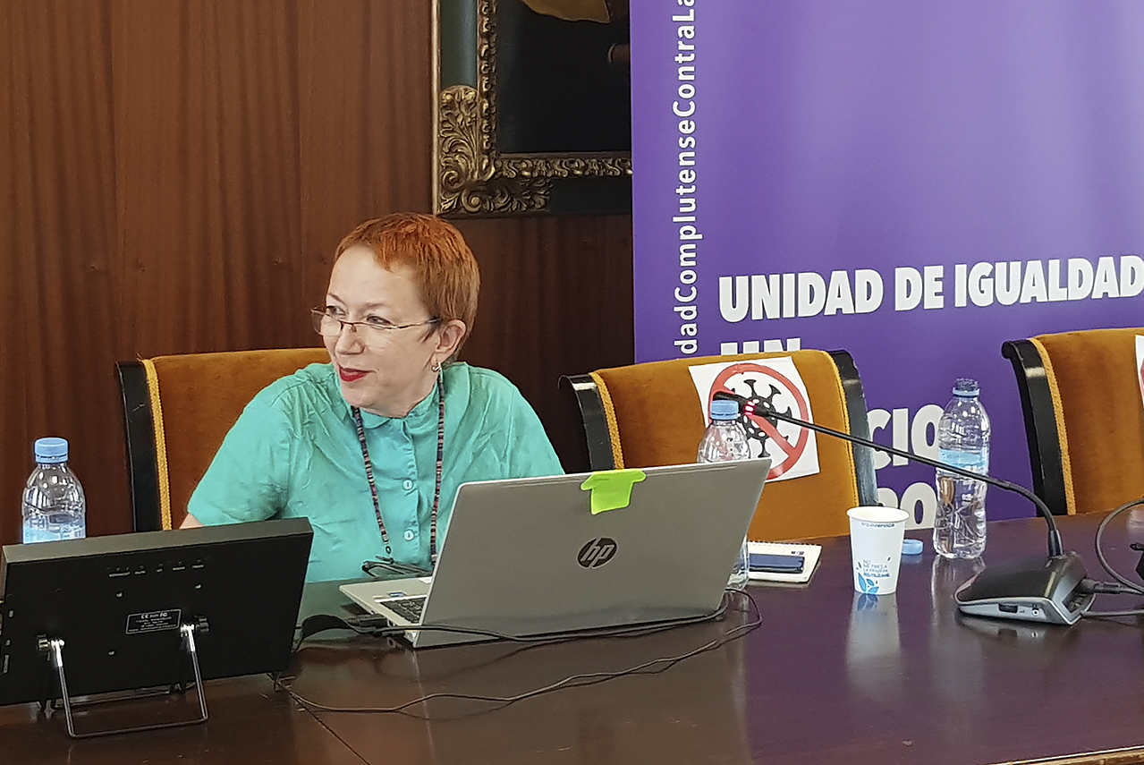 Carmen Fernández Montraveta, directora de la Unidad de Igualdad de la Universidad Autónoma de Madrid