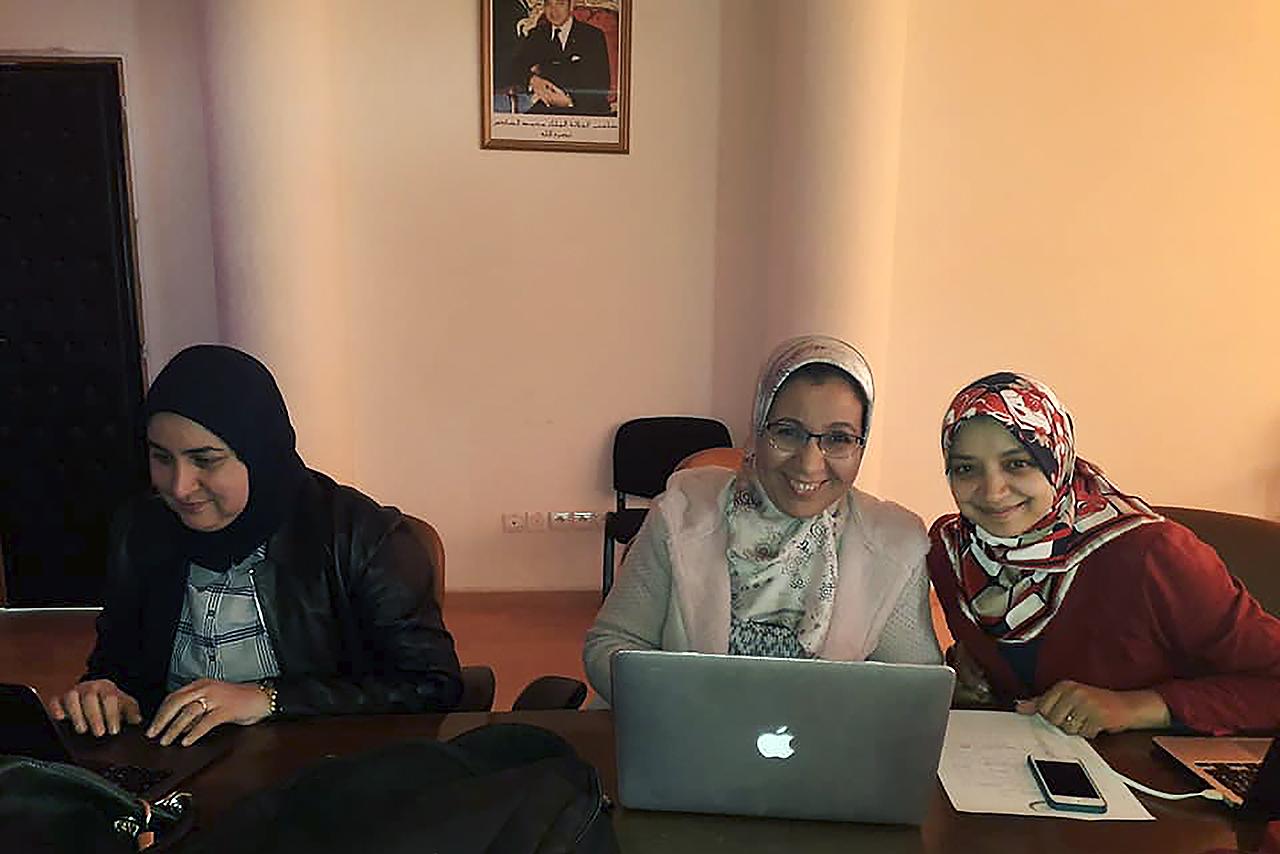 La Unidad de Igualdad y la Fundación Mujeres por África imparten formación a las profesoras de la Universidad Mohamed I de Oujda