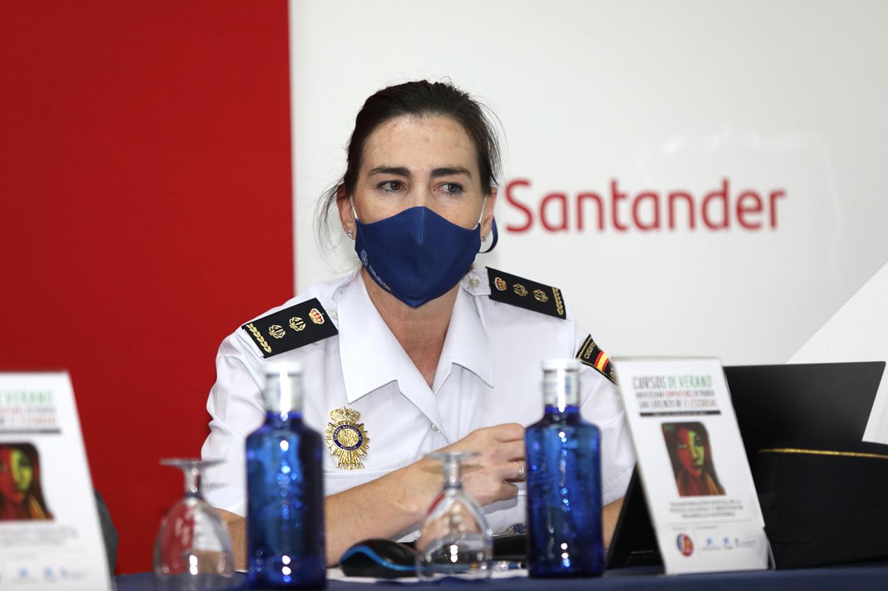 """María Jesús Llorente Vega, directora gerente de la Fundación Policía Española y directora del curso """"Transformación digital de la Policía Nacional y Objetivos de Desarrollo Sostenible"""""""