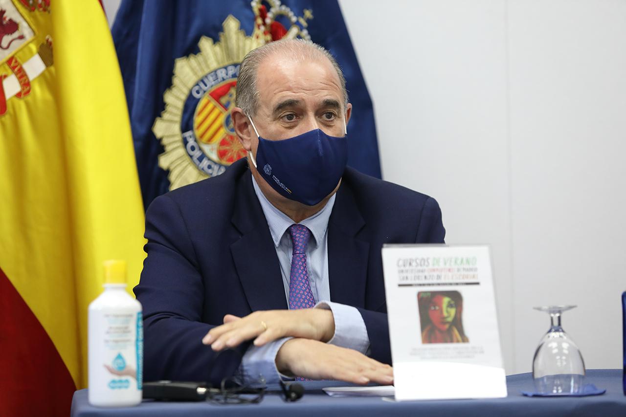Francisco Pardo Piqueras, director general de la Policía Nacional