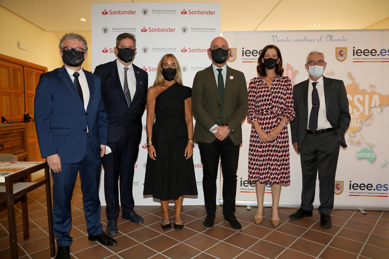 Andrés Arias, Miguel Ángel casermeiro, Susana García Espinel, Joaquín Goyache, Alejandra Kindelán y Emilio Boauza