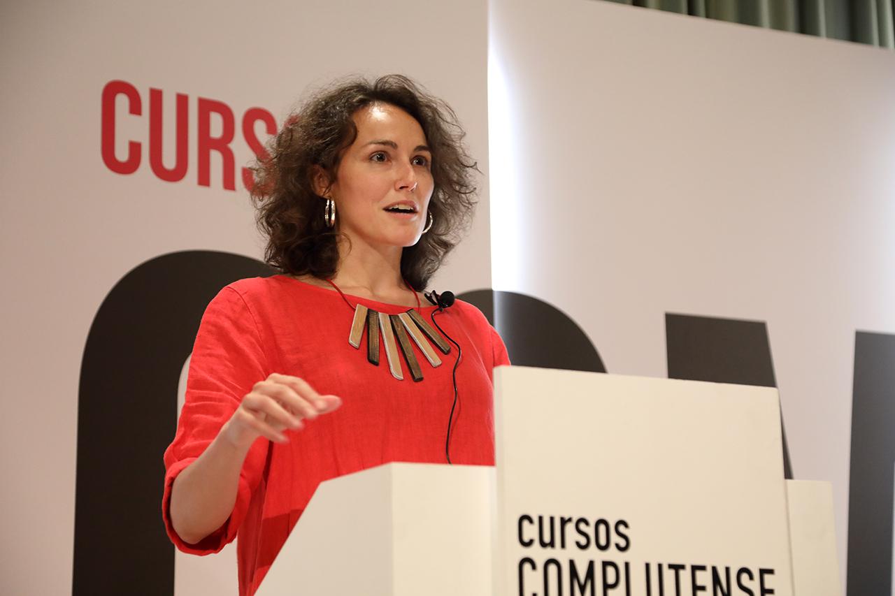Sara Torres, coordinadora del área de Humanidades y Actividades Extraordinarias