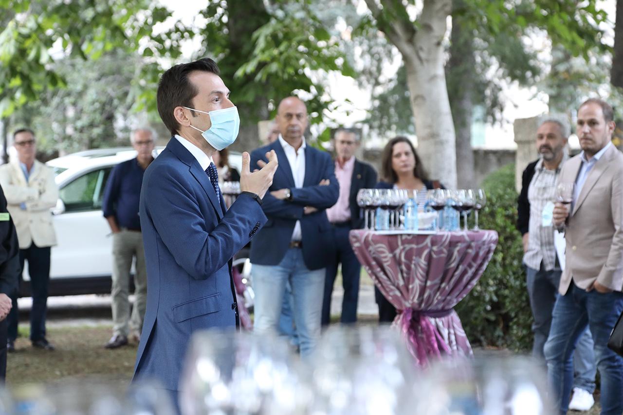 Álex Pardo, durante su intervención