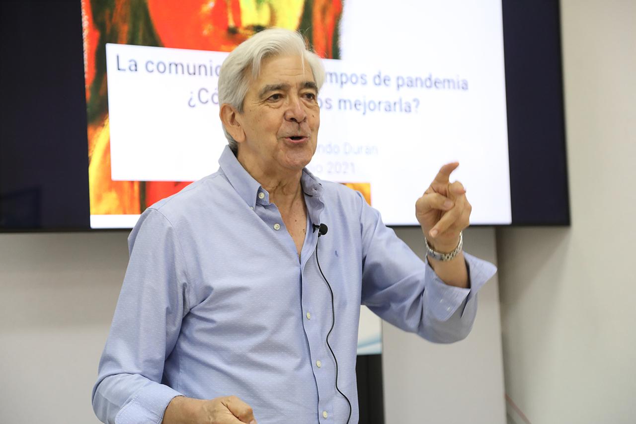 El presidente de la Asociación Española para la Calidad, Miguel Udaondo