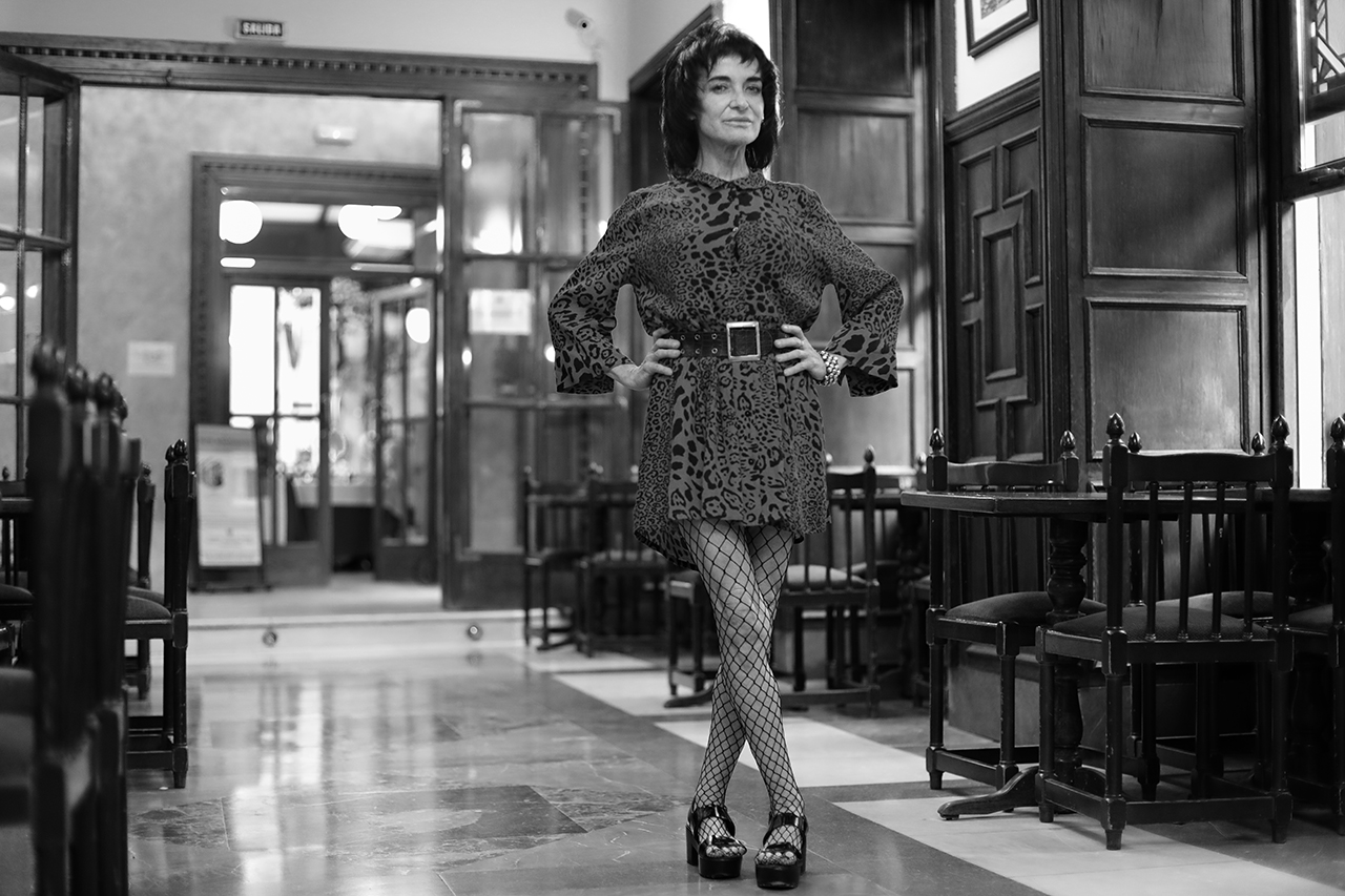 Ana Curra, en San Lorenzo de El Escorial