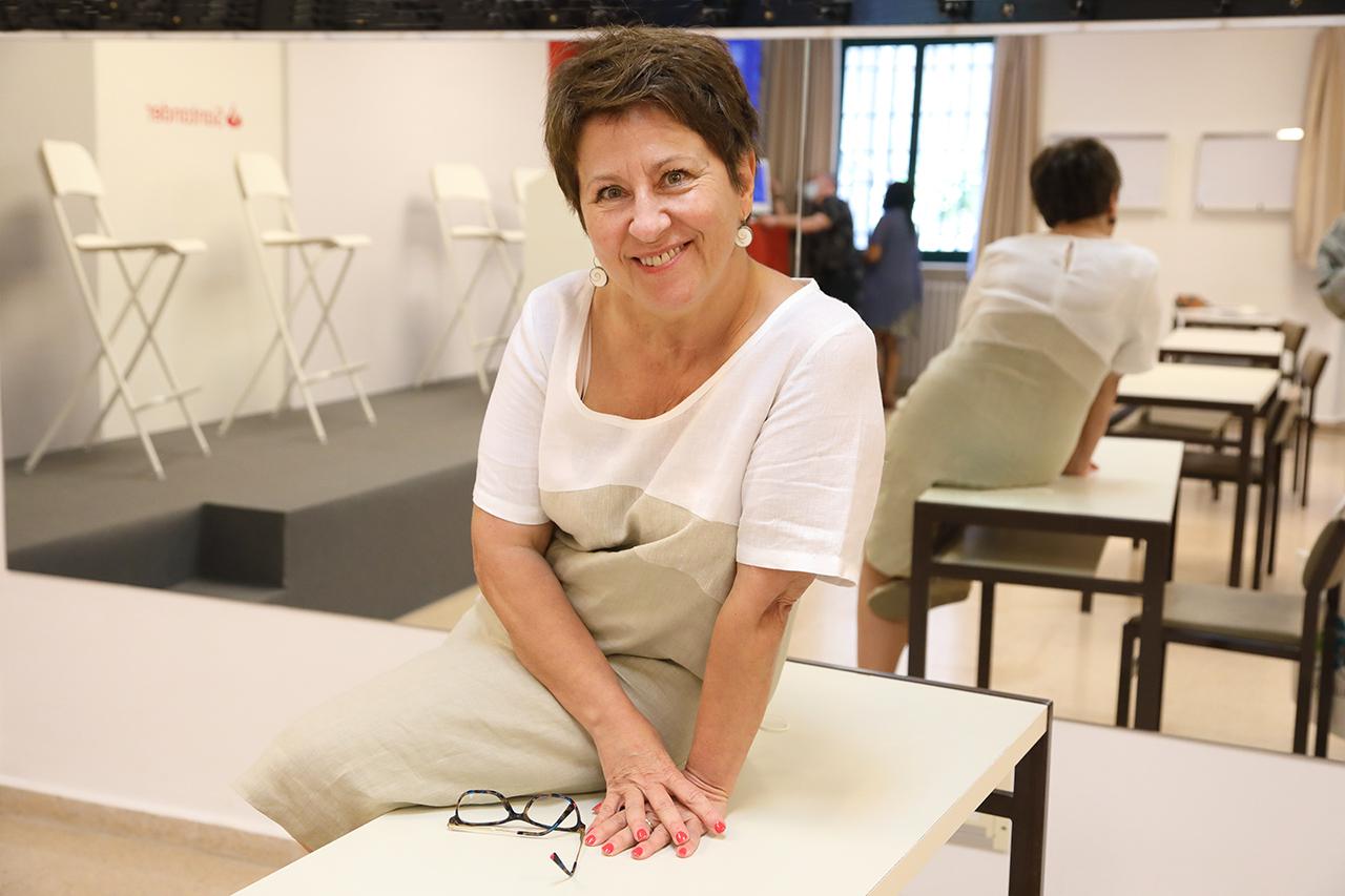 Mercedes García García, catedrática de Pedagogía Diferencial de la Facultad de Educación y delegada del rector para la Diversidad e Inclusión