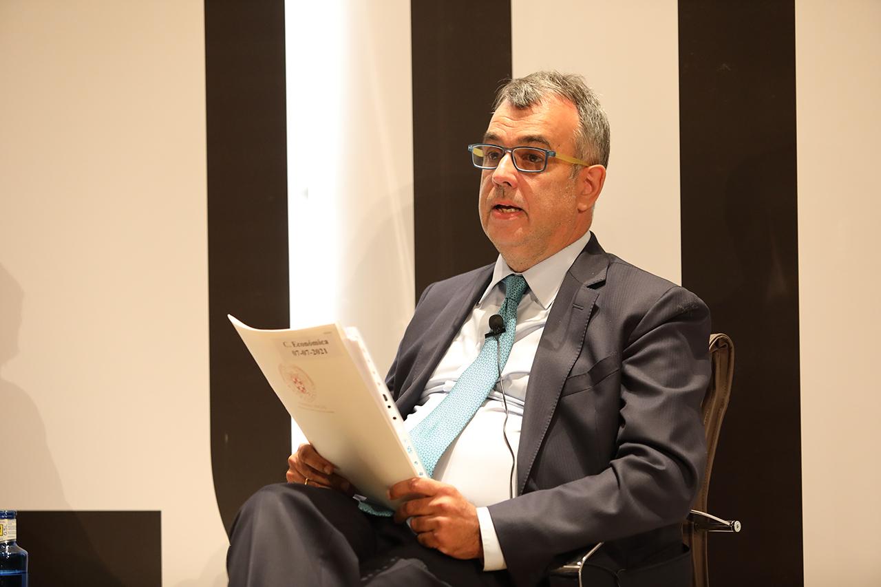 Álvaro Costas, secretario del Consejo Social de la UCM