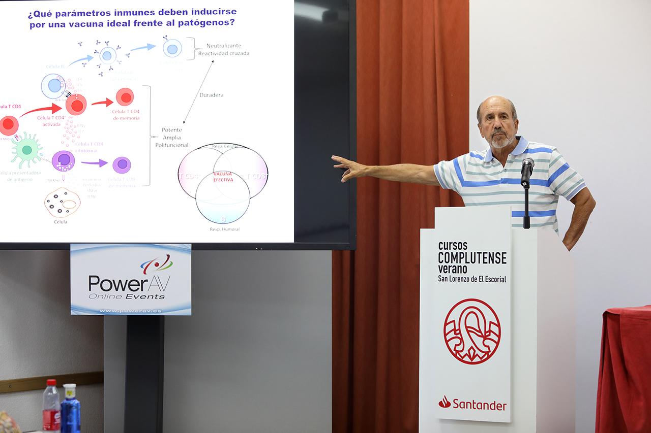 Mariano Esteban Rodríguez hablo sobre la vacuna que se está desarrollando en el CSIC