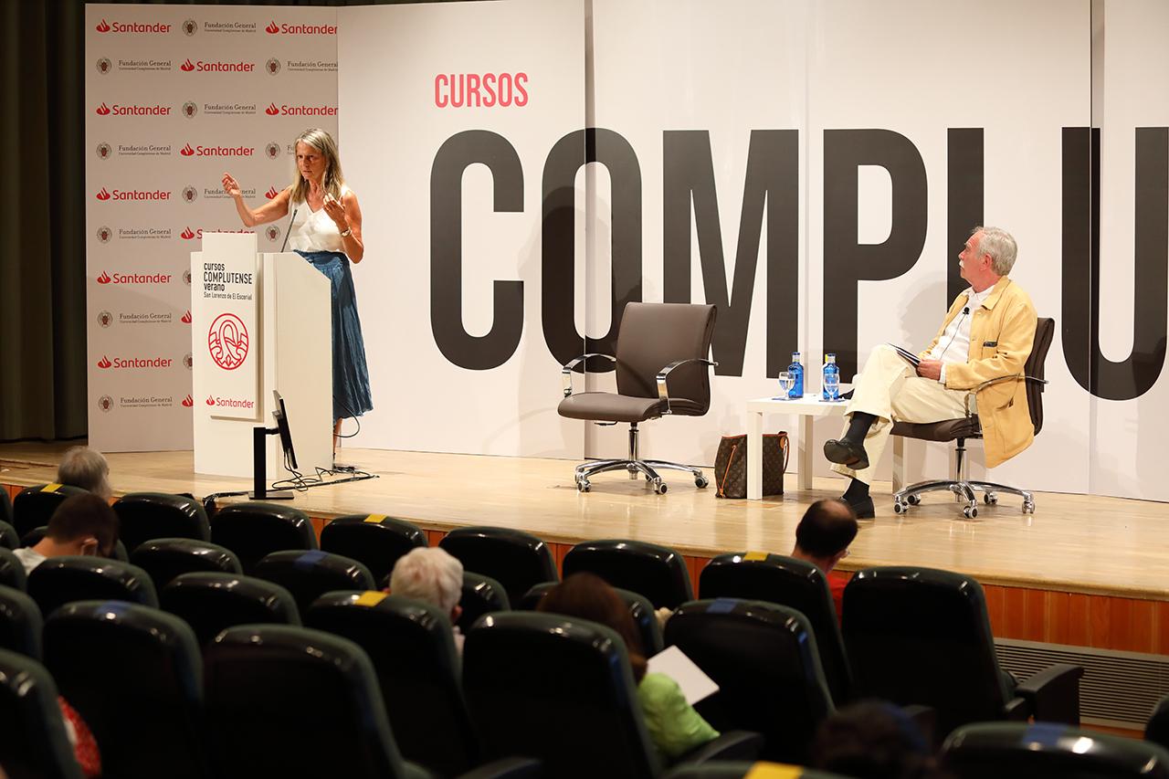 Isabel San Sebastián, durante su conferencia