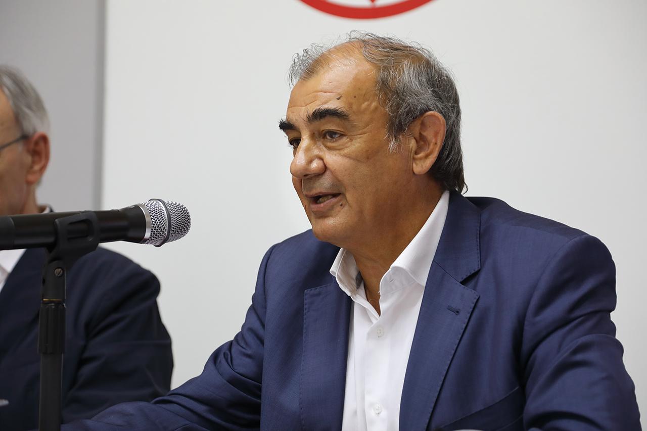 Juan Antonio Pedreño, consejero del CES de España y codirector del curso