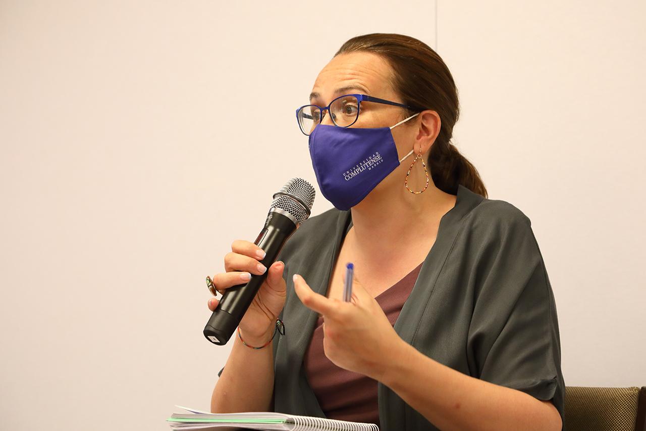 La vicerrectora de Estudiantes de la UCM, Rosa María de la Fuente