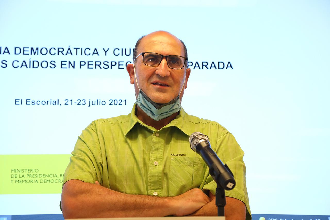 """Francisco Ferrándiz, codirector del curso """"Memoria democrática y ciudadanía: El Valle de los Caídos en perspectiva comparada"""""""