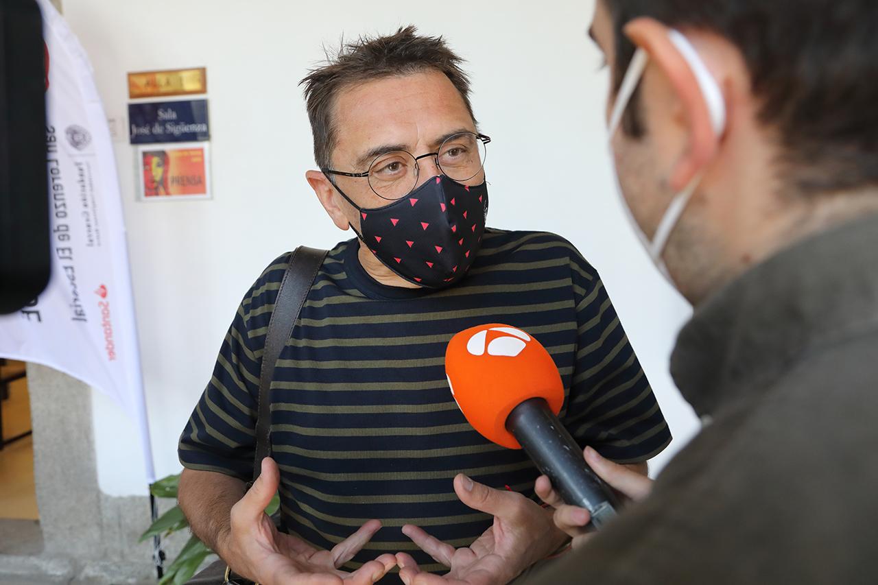 Juan Carlos Monedero, director de la Fundación Instituto 25M Democracia