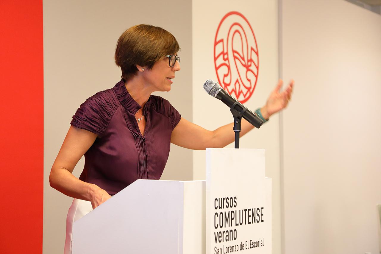 La directora general de la Guardia Civil, María Gámez, ha hablado de alguno de los retos a los que se enfrenta la benemérita