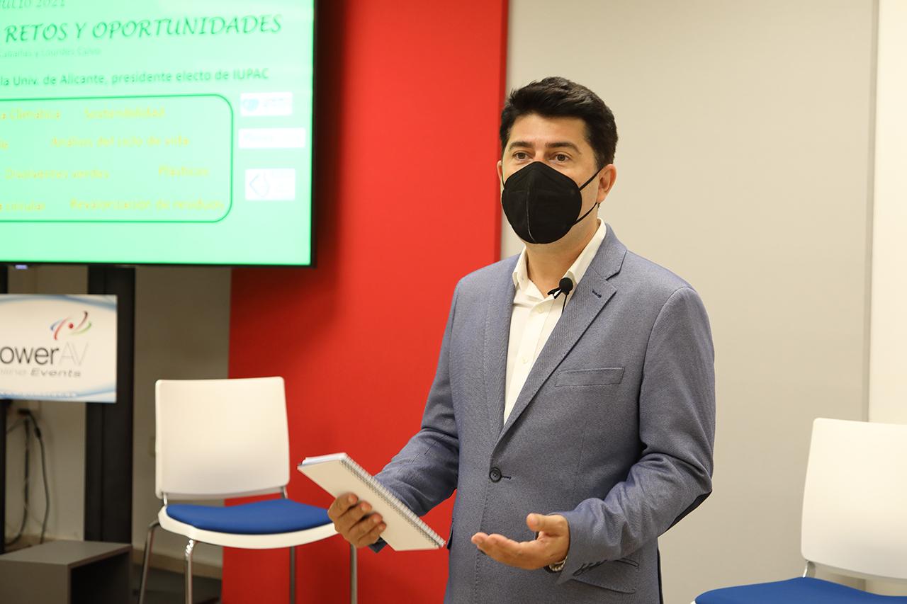 Javier García Martínez, catedrático de Química Inorgánica de la Universidad de Alicante y presidente electo de IUPAC