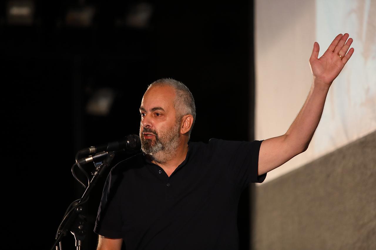 El sociólogo y periodista Emilio Silva