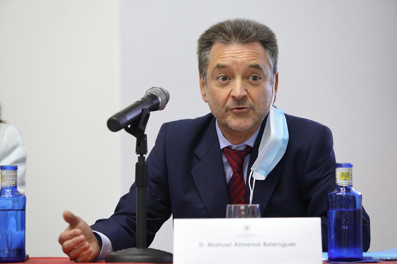 Manuel Almenar Belenguer, magistrado de la Audiencia Provincial de Pontevedra