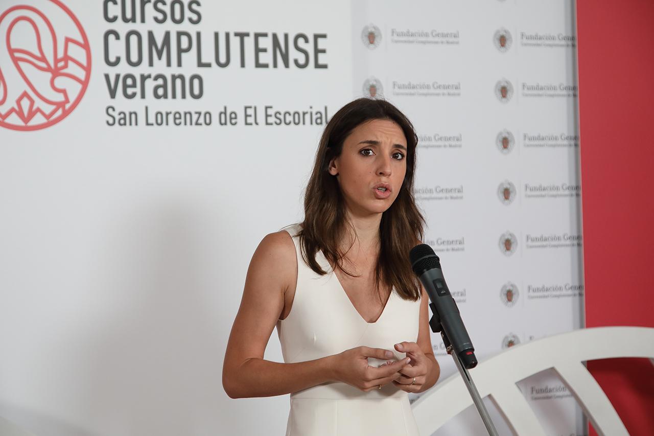 Irene Montero reclamó que Juana Rivas no ingrese en prisión