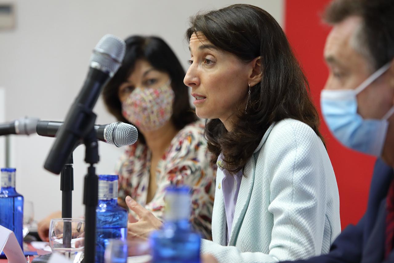 """Pilar Llop, ministra de Justicia, ha inaugurado el curso """"Poder judicial y estado de derecho"""""""