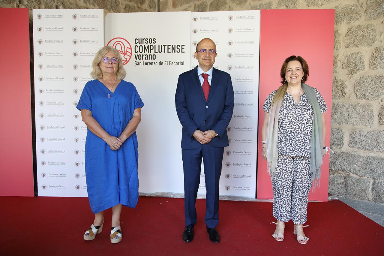 Isabel Tajahuerce Ángel, José Fernando Lousada Arochena y Magdalena Suárez Ojeda