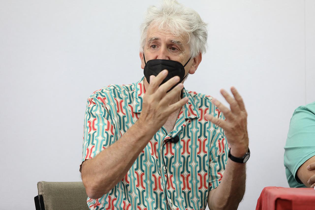 El catedrático de Paleontología, Juan Luis Arsuaga