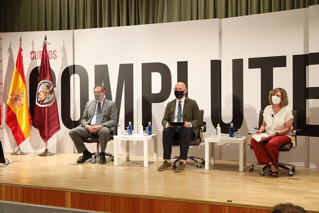 Miguel Ángel Casermeiro, Joaquín Goyache y Lucía Monteoliva