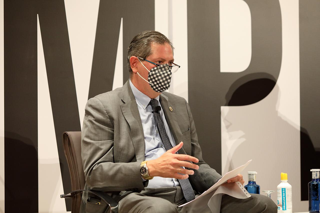 Miguel Ángel Casermeiro, director de los Cursos de Verano