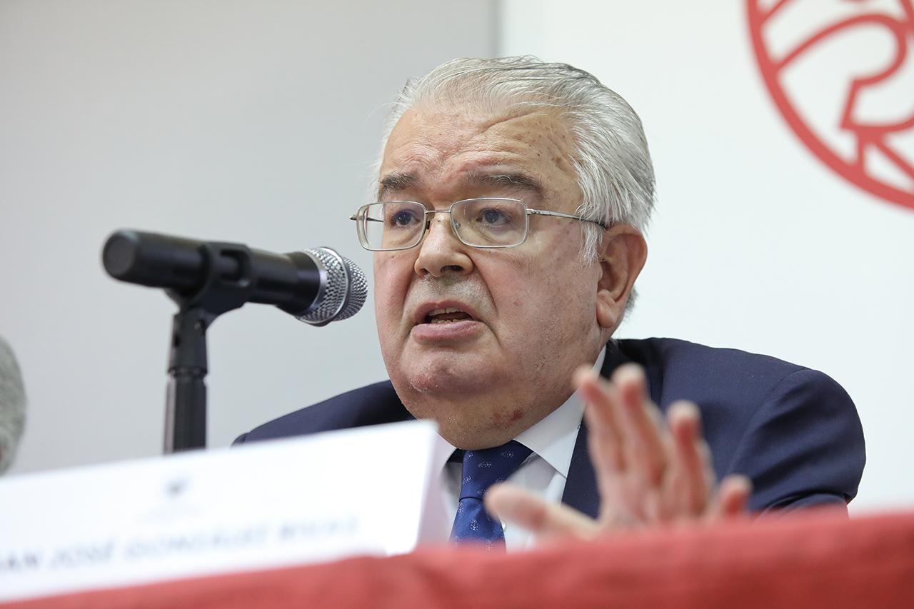 Juan José González Rivas, presidente del Tribunal Constitucional
