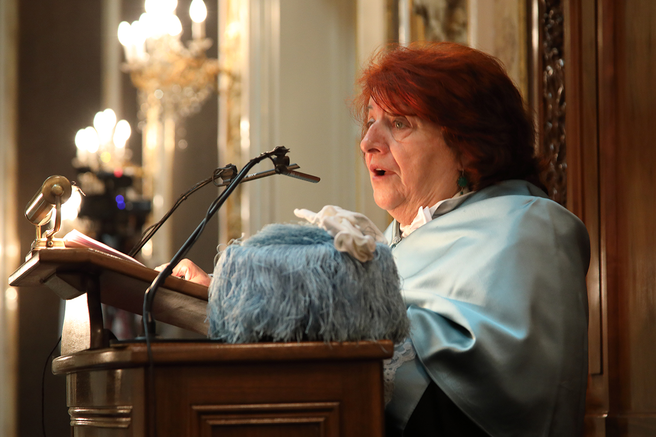 Fanny Rubio pronunció la lección inaugural del Curso