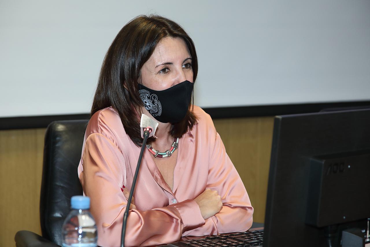 Susana Valverde, delegada de Diversidad e Inclusión de la Facultad de Educación, ha tenido un papel clave en la constitución de la asociación