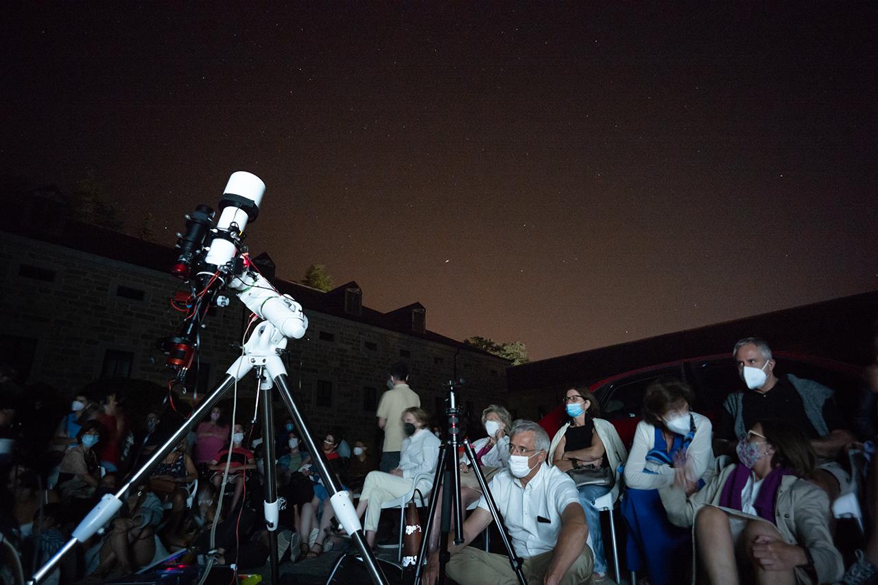 Observación astronómica en los Cursos de Verano 2021